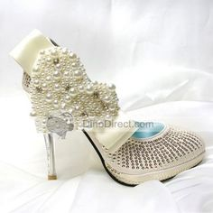 wedding shoes, not for sure how I feel about the big heart on the side, but nice shoe