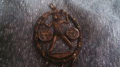 FEBRUARY SALE Vintage Metal Large Unusual Egyptian by MICSJWL