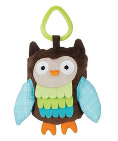 This Treetop Friends Owl Stroller Toy is perfect! #zulilyfinds