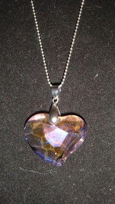 Genuine Swarovski crystal pendant necklace