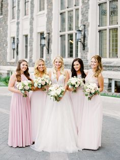 Blush beauties | Photography: Justine Milton