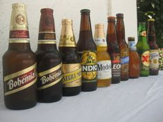 Mexican Beer Lineup