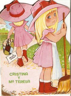 CUENTO TROQUELADO - CRISTINA Y Mª TERESA - MARIA PASCUAL - EDICIONES TORAY - 1981 (Libros de Lance - Literatura Infantil y Juvenil - Cuentos...