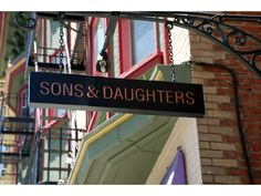SONS AND DAUGHTERS - Restaurant - SF
