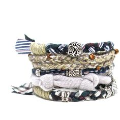 Navy Stacking Bracelet Nautical Bracelet Stack by peggytrue ($32) ❤ liked on Polyvore featuring jewelry, bracelets, nautical jewelry, stacking bangles, navy jewelry, stackers jewelry and navy blue jewelry