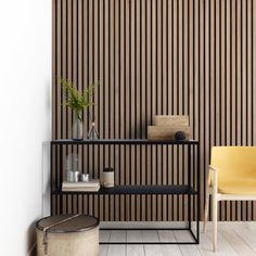 Acupanel® Contemporary Walnut Acoustic Wood Wall Panel   Wall Paneling Wood Slat Wall, Wooden Wall Panels, Decorative Wall Panels, Wood Panel Walls, Wood Slats, Wooden Walls, Wood Veneer, Wood Slat Ceiling, Wooden Wall Design