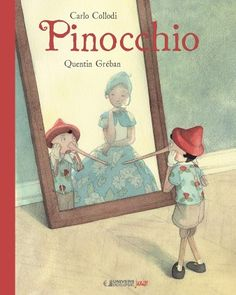 The Pinocchio Museum: Pinocchio Hardcover, Quentin Greban (Illustrator) Pinocchio, Viria, Princess And The Pea, Preschool Books, Weird Stories, Thing 1, Children's Book Illustration, Illustration Children, Poems