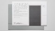 3.1 phillip lim Men's S/S 2010 by Li, Inc. embossed debossed depth