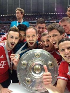 FC Bayern the champs!