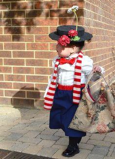 Disfraz infantil de Mary Poppins