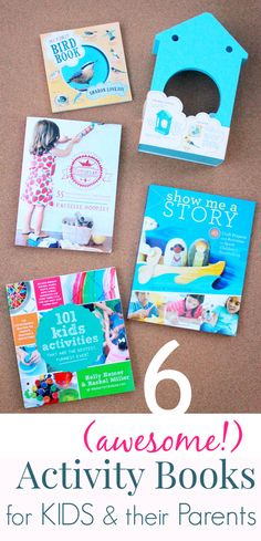 Some awesome new (and newish) activity books for families. So many ideas in these! I think I'll just plan our summer around the activities in these books! Summer Activities For Kids, Creative Activities, Creative Play, Reading Activities, Activity Books, Fun Activities, Childhood Education, Kids Education, Toddler Books