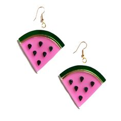 Feeling fruity? Rock these cute earrings this summer! Handmade item Material: acrylic Returns and Exchanges Policy Shipping Specifications: Item ships from U.S.