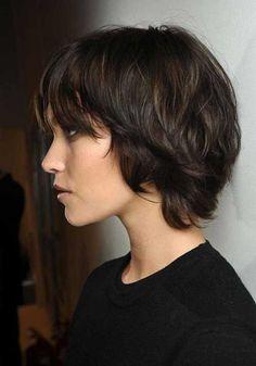 15+ Short Shaggy Bob Hairstyles   Bob Hairstyles 2015 - Short Hairstyles for Women http://gurlrandomizer.tumblr.com/post/157387787697/hairstyle-ideas-i-love-this-hairdo-facebook