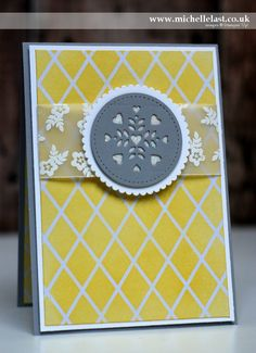 2017  Window Box Thinlits from Stampin Up - with Michelle Last    Window Shopping Clear-Mount Bundle – 144743