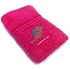 Buy #personalised_Puppy with a bow #Towels which you can get your custom text below the main logo, This #Gift_Towels category of towels which are made from the soft organic 100% Cotton Terry. Visit http://www.personalisedtowel.co.uk/personalised-towels/gift-towels/new-born/personalised-puppy-with-a-bow-gift-towels-terry-cotton-towel