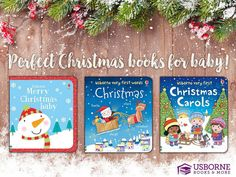 Looking for Christmas books? Click through to find these and other great holiday titles from Usborne Books & More. Baby Learning Activities, Book Activities, Fun Learning, Christmas Star, Christmas Books, First Christmas, Reindeer And Sleigh, Christmas Graphics, Holidays With Kids