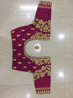 Cutwork Blouse Designs, Wedding Saree Blouse Designs, Simple Blouse Designs, Embroidery Neck Designs, Stylish Blouse Design, Traditional Blouse Designs, Maggam Work Designs, Hand Work Blouse Design, Designer Blouse Patterns