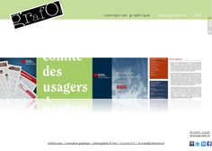 My website - GRAFOS graphic design & michel cojan photography - is (finally) on line