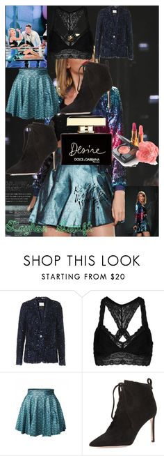 """""""Taylor Swift"""" by oroartye-1 on Polyvore featuring By Malene Birger, Topshop, Delman and Dolce&Gabbana"""