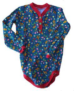 FAIRYKNITS: Weihnachts-Outfits in Gr. 98 Schnabelina-Regenbogenbody aus Lillestoff mit Knopfleiste nach Hamburger Liebe Tutorial