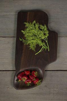 330. Extra Large Black Walnut Wood Handcrafted Cutting Board