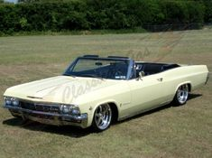 Classic Car News Pics And Videos From Around The World 1965 Chevy Impala, Chevrolet Chevelle, My Dream Car, Dream Cars, Convertible, 1960s Cars, Sexy Cars, Vintage Cars, Cool Cars