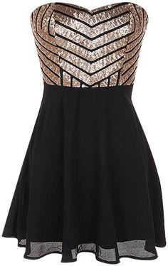 Sequin Chiffon Dress @amyh214 I found the perfect prom dress