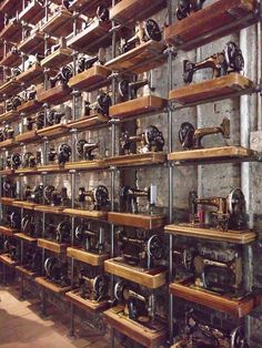 Sewing Machine Wall