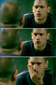 Michael Scofield I was so scared when this happened!!! Then I found out... Poor Michael ;(