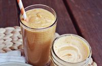 Pumpkin Smoothie from A Beautiful Mess blog