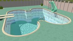 Mod The Sims - Non-edgie Pool Edges *Base Game Compatible version added 4/12/2019*