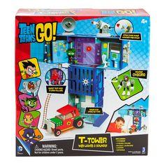 Amazon.com: Teen Titans Go Teen Titans - T Tower Playset: Toys & Games