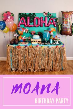 30 Best Moana Luau 5th Bday Images