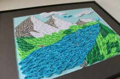 mountain quilled scene  http://www.etsy.com/listing/98696553/quilled-mountain-landscape-ooak?ref=sr_gallery_10_search_query=mountains_order=most_relevant_view_type=gallery_ship_to=ZZ_min=0_max=0_page=41_search_type=handmade