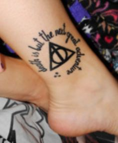 favorite Harry potter tattoo