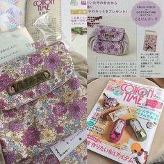 発売中!のコットンタイム9月号に私の仕事が掲載になってます✨ My Works published in Japanese Quilt magazine ✨ (This is quilt works,not Embroidery☆) 私の運営している手芸資材屋cherin-cherin×雑誌cotton timeさんのコラボポーチキットができました✨✨ 私がデザイン・レシピ制作を担当しておりま〜す こちらは、雑誌のプレゼント企画になっているので、雑誌を見て是非どしどしご応募くださいね✨✨✨ 一番最後のページです✨✨✨✨...刺繍は、1人でもそもそやってる感じで、まだ雑誌の人とかにも言ってないんですよね難しすぎてコットンタイムさんにはニーズのない分野でしょうから、もすこし練習してからどうするか考えようっと!! #handmade #DIY #embroidery #ハンドメイド #コットンタイム #刺繍 #вышивка #자수 #cottontime