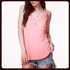 Super cute pink top and necklace