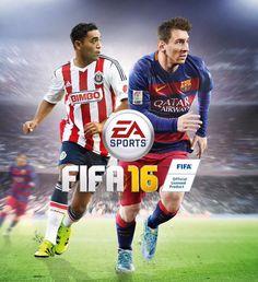 MARCO FABIÁN ESTARÁ EN PORTADA DE FIFA 16 El mediocampista de Chivas será acompañado del argentino Lionel Messi. Supera en votos a los otros contendientes.