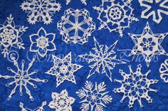 Free snowflake patterns! http://www.snowcatcherphotos.com/blahg/patterns/SnowcatcherSnowflakeDirectory.html
