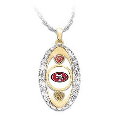 85b66875f For The Love Of The Game San Francisco 49ers Pendant Necklace Patriots  Team