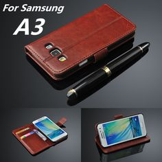 For fundas Samsung A3 A3000 card holder cover case for Samsung Galaxy A3 leather phone case ultra thin wallet flip cover #electronicsprojects #electronicsdiy #electronicsgadgets #electronicsdisplay #electronicscircuit #electronicsengineering #electronicsdesign #electronicsorganization #electronicsworkbench #electronicsfor men #electronicshacks #electronicaelectronics #electronicsworkshop #appleelectronics #coolelectronics