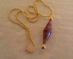 Bali Sunset Mood Bead Pendant Necklace