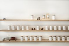 Shelving of tea at Song Tea & Ceramics | Remodelista