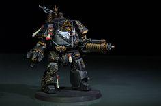Pre-Heresy Dark Angels Contemptor dreadnought   par mikko.pyhajarvi