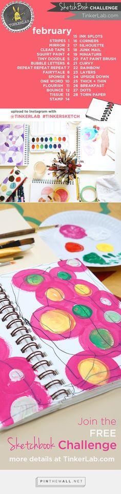 TinkerSketch | Daily Sketchbook Challenge - TinkerLab