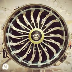 We're using advanced manufacturing techniques to build jet engine parts. Welcome to the future.