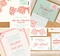 Our Muse - Be inspired by this charming country wedding - Wedding invitations, save the dates, accessories - custom stamps, digital printing, invitations, letterpress printing, offset printing, wedding