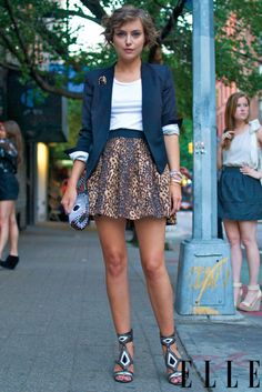 Chic and stylish. And it's making me hate animal print a little less.