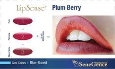 Plum Berry Lipsense by Senegence long lasting lip color. Independent Distributor 252185