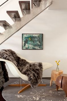 Daun Curry, living room, modern, eclectic chic